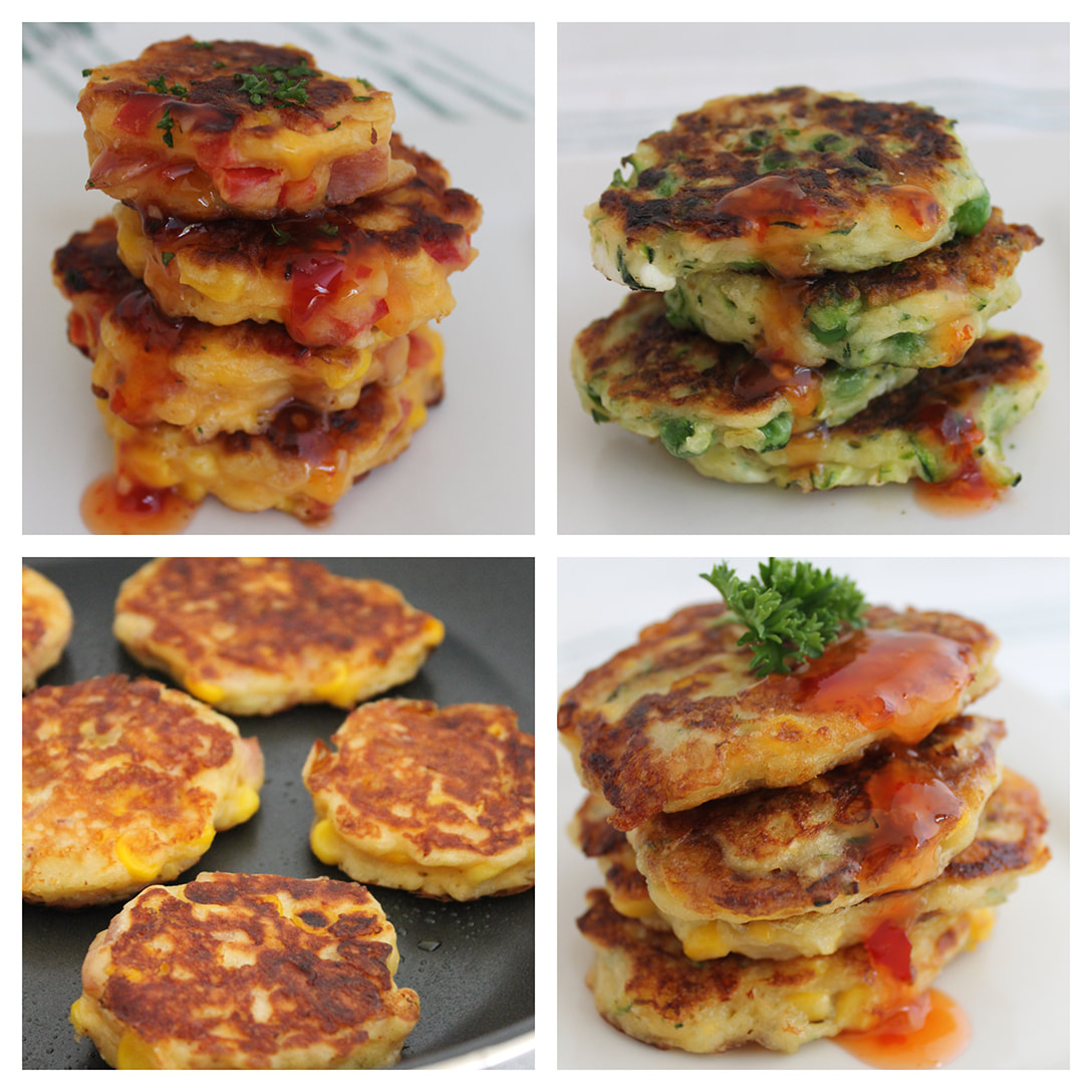 Fritters - master recipe, many variations