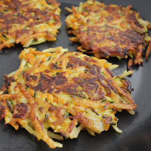 Delicious homemade vegetable patties